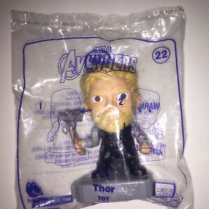Marvel Avengers END GAME 2019 McDonald's Happy Meal Toy - THOR #22 Sealed Bag