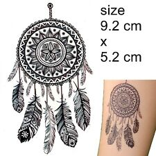 Dreamcatcher temporary Tattoo dream catcher feather native American Temp Tatoos