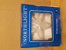 """Northlight 7"""" Traditional 5-Point Star Christmas Tree Topper - Clear Lights"""