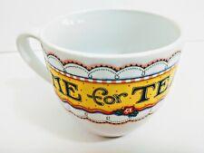 Mary Engelbreit Tea Cup Time For Tea PreOwned