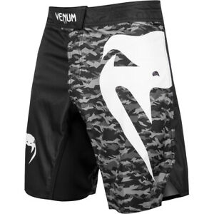 Venum Light 3.0 MMA Fight Shorts - Black/Urban Camo