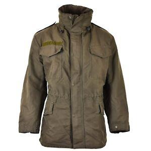 Genuine Austrian army combat M65 jacket GoreTex military olive Parka waterproof
