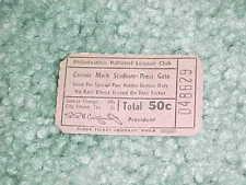 1950s Philadelphia Phillies Connie Mack Stadium Baseball Ticket Press Gate