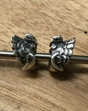 Set Of 2 Trollbeads Turkey Stoppers Spacers
