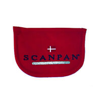 100% Genuine! SCANPAN Side Handle Holders Set of 2 Pan Holders Red! RRP $9.95!