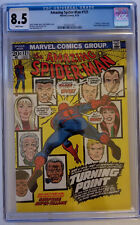 Amazing Spider-Man #121 Death of Gwen Stacy CGC 8.5 WHITE PAGES