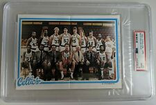 Larry Bird Celtics 1980 Topps Pin Ups PSA 9 Bird RC Rookie