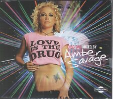 Ambar Savage love is the drug disc one Cd