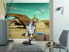 Wall Mural Photo Wallpaper STAR WARS LOST DROIDS ROBOTS Kids Room Decor 368x254