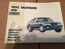 1992 FORD MUSTANG Service Shop Repair Manual