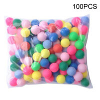 100PCS Ping Pong Ball Beer Table Tennis Lucky Dip Gaming Lottery Washable JHS