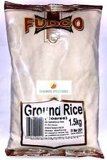 COARSE GROUND RICE - COARSE - FUDCO - 1.5kg