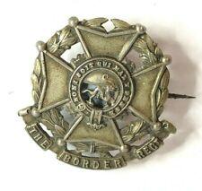 Boer War Border Regiment Volunteer Battalion Sweetheart Brooch Made from collar