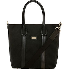 NEW OROTON Signature O Weekender Handbag Leather Canvas Black BNWT RRP $595