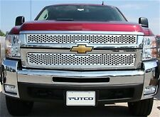 Putco Punch Stainless Grille Insert For 07-10 Silverado 2500HD 3500HD #84195