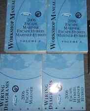 2006 FORD ESCAPE & ESCAPE HYBRID Service Shop Repair Workshop Manual SET W EWD