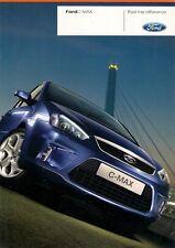 Ford C-Max 2007 marché du Royaume-Uni lancement 12pp sales brochure Studio style Zetec Titane