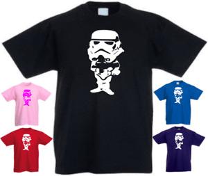 Funny Storm Trooper Star Gift New Kids T-shirt