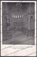 ALESSANDRIA CASALE MONFERRATO 56 RONCAGLIA INTERNO CHIESA Cartolina circa 1903