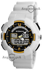 Multifunction Xonix Sports Watch Men's and Boys' LCD Analog Wr100m Xk1l2h/5