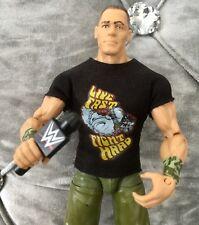 WWE Mattel figure action ELITE WRESTLEMANIA JOHN CENA WITH SHIRT raw Kid Toy Mic