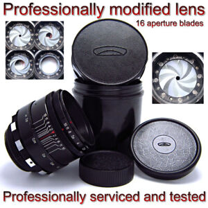 Early HELIOS 44-2 f2/58mm - logo MMZ -16 aperture blades - MADE in USSR №1049972