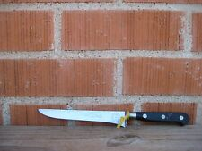 "Vintage 5 1/2"" Blade * SABATIER - JEUNE * Inoxidable Chef's Boning Knife FRANCE"