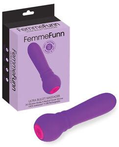 Femme Funn Ultra Bullet Massager - Purple