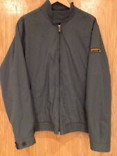 Abercrombie & Fitch A&F Men's Large Blue & Teal Coat RRP £99