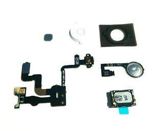 iPhone 4s Home Menu Button Flex Cable Circuit + Proximity Light Sensor