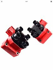 2PC 96-98 FORD MUSTANG GT COBRA 4.6 HIGH OUTPUT IGNITION DIS COILS PACK