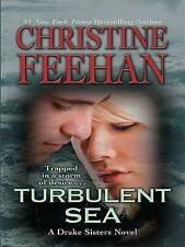 Turbulent Sea by Christine Feehan (Hardback, 2008) large type edition
