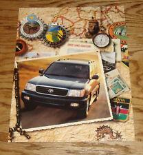 Original 2002 Toyota Land Cruiser Foldout Sales Brochure 02