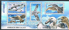 French Antarctic/TAAF 2016 Birds 4v MS MNH