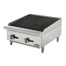 Atosa ATRC-24 Heavy Duty Stainless Steel 24-Inch Radiant Broiler Propane