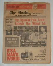 THE HOCKEY NEWS OCTOBER 12 1968 Vol.22 #1