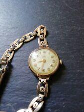 Tudor Royal (Rolex) 9ct Gold Ladies Watch.