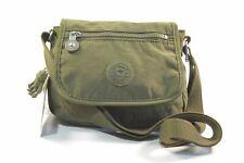 Kipling AC8280 0EN Sabian Jaded Green Nylon Mini Crossbody Bag