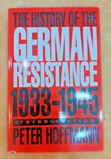 The History of the German Resistance 1933-1945 Peter Hoffmann TPB