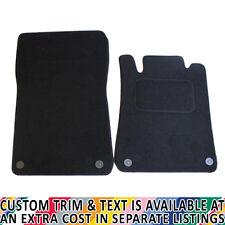 For Chrysler Crossfire Fully Tailored 2 Piece Car Mat Set with 4 Clips