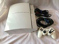 PLAYSTATION 3 80GB Ceramic White PS3 SONY from Japan game play station Console