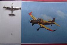 Moravan Zlin Z 37 T Agricultural Crop Sprayer Aircraft PR Advert Photo Pin Badge