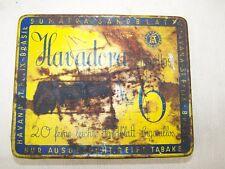 ancienne étui à cigarettes Boîte de Boite conserve, Havadora Cigares, La havane