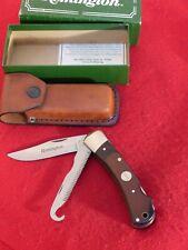 Remington Usa Made mint in box R3 double lockback Big Game hunting knife