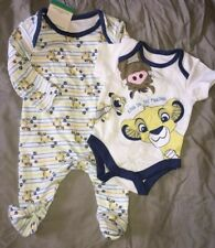 77cc74a77a879 pyjama body disney simba roi lion coton taille naissance neufs etiquetés