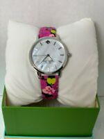 Kate Spade New York Metro Floral Leather Strap Watch KSW1512 50% OFF