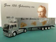 Herpa 1:87 HO Mercedes-Benz Tractor Trailer Carl Benz 150th Birthday Edition