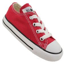 Scarpe sneakers rosso medi per bambini dai 2 ai 16 anni