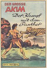 Il grande AKIM fascicolo 4 la lotta con il Panther hethke COMIC Z 0-1