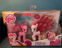 "Rare Mint MLP Crystal Princess ""Diamond Rose and Pinkie Pie!""  by Hasbro 2012"